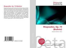 Обложка Rhapsodies, Op. 79 (Brahms)
