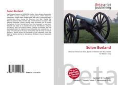 Bookcover of Solon Borland