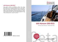 Portada del libro de USS Hanson (DD-832)