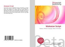 Bookcover of Woleaian Script