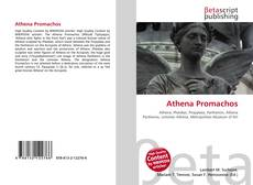 Bookcover of Athena Promachos