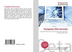 Capa do livro de Template (file format)