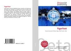 Buchcover von TigerText