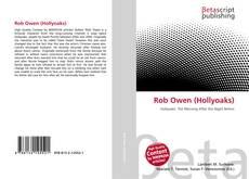 Couverture de Rob Owen (Hollyoaks)