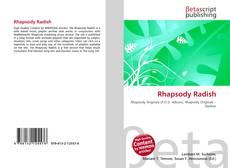 Rhapsody Radish的封面