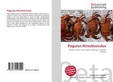 Bookcover of Pagurus Hirsutiusculus