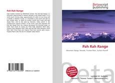 Borítókép a  Pah Rah Range - hoz