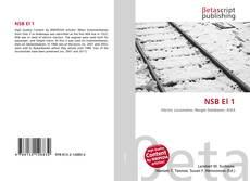 Bookcover of NSB El 1