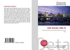Portada del libro de USS Hector (AR-7)