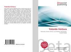 Copertina di Yolanda Ventura