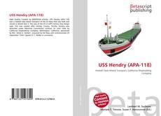 USS Hendry (APA-118) kitap kapağı