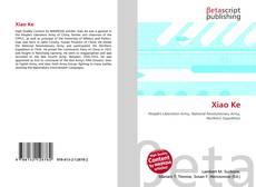 Capa do livro de Xiao Ke
