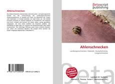 Buchcover von Ahlenschnecken