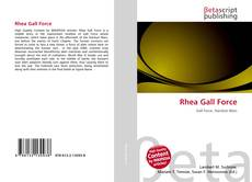 Bookcover of Rhea Gall Force