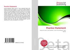 Bookcover of Practice Statement