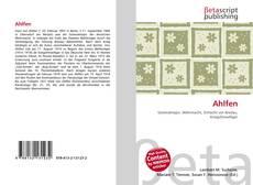 Buchcover von Ahlfen