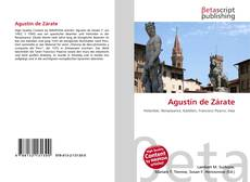 Bookcover of Agustín de Zárate
