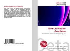 Bookcover of Saint-Laurent-en-Grandvaux