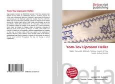 Buchcover von Yom-Tov Lipmann Heller