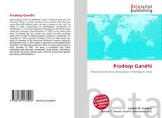 Bookcover of Pradeep Gandhi