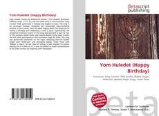 Bookcover of Yom Huledet (Happy Birthday)