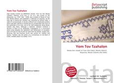 Bookcover of Yom Tov Tzahalon
