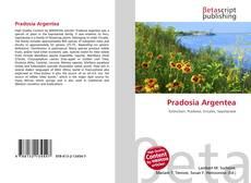 Capa do livro de Pradosia Argentea