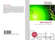 Bookcover of Rhee Yong Sin
