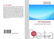 Bookcover of Yon Goicoechea