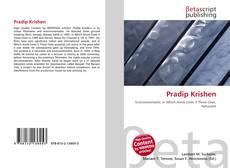 Bookcover of Pradip Krishen