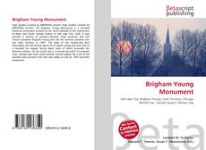 Bookcover of Brigham Young Monument