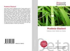 Capa do livro de Pradosia Glaziovii