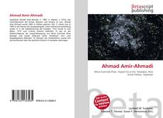 Bookcover of Ahmad Amir-Ahmadi