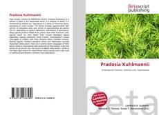 Capa do livro de Pradosia Kuhlmannii