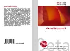 Ahmad Dschannati的封面
