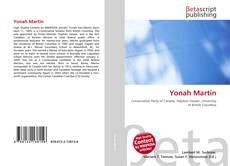 Yonah Martin kitap kapağı
