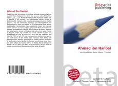 Bookcover of Ahmad ibn Hanbal