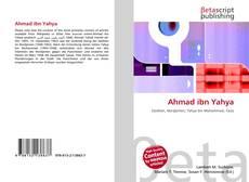 Buchcover von Ahmad ibn Yahya
