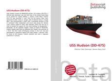 USS Hudson (DD-475)的封面