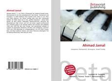 Bookcover of Ahmad Jamal
