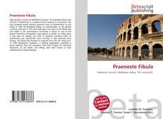 Bookcover of Praeneste Fibula