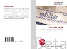 Bookcover of Yonason Sacks