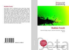 Capa do livro de Robbie Farah