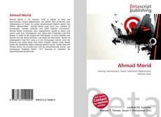 Portada del libro de Ahmad Morid