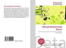 Обложка Ahmad Muhammad Harun