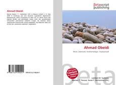 Buchcover von Ahmad Obeidi