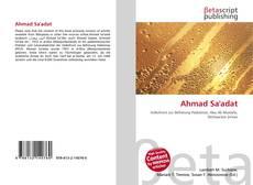 Ahmad Sa'adat的封面