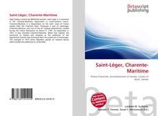 Bookcover of Saint-Léger, Charente-Maritime