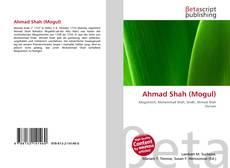 Bookcover of Ahmad Shah (Mogul)