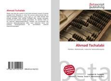 Portada del libro de Ahmad Tschalabi